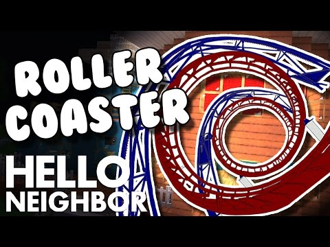 minecraft-hello-neighbor---finding-the-alpha-4-house-rollercoaster-(minecraft-roleplay)