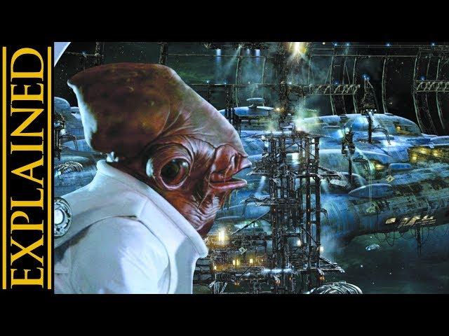 The Mon Cala Fleet and Shipyards of Star Wars Legends