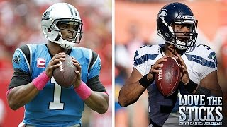 Cam Newton or Russell Wilson? (Week 6 Review) | Move the Sticks | 10/19/15 | NFL