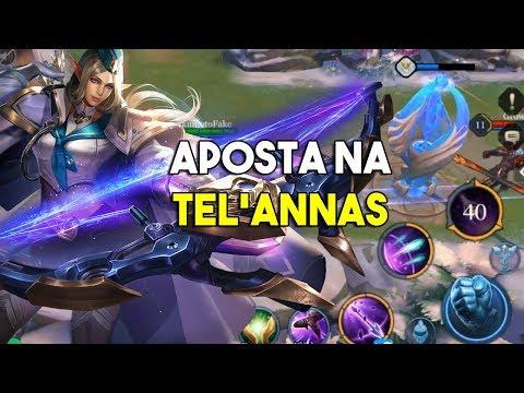 Pode apostar na Tel'annas - Trio da paiN Angra e Zoraka - Arena of Valor