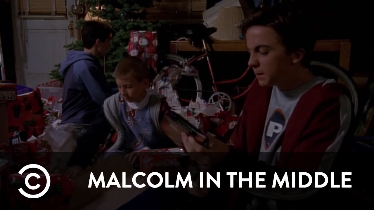 Malcolm In The Middle Christmas.The Boys Ruin Christmas Malcolm In The Middle