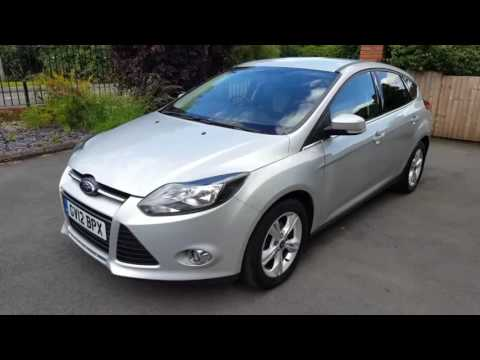 ford focus zetec 1 6 ti vct 5 door manual petrol hatchback in rh youtube com Ford Focus Automatic White Ford Focus