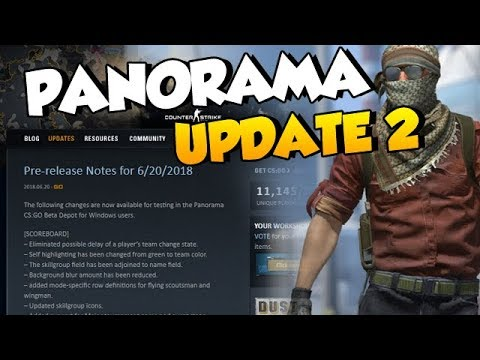PANORAMA UPDATE - Quick Overview + Text Color Mod Status