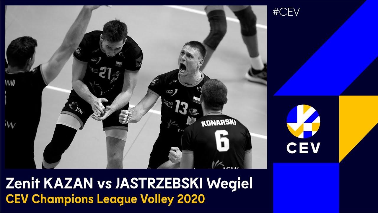 Zenit KAZAN vs JASTRZEBSKI Wegiel FULL MATCH - 2020 #CLVolleyM