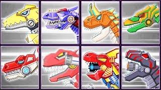 Toy Robot War Gameplay #7: Megalosaurus & Dinosaurs | Eftsei Gaming