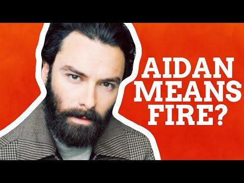 Aidan's Fiery Origins