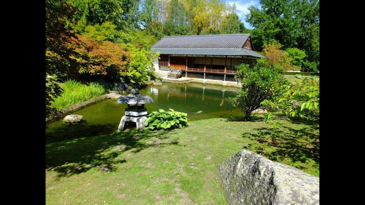 Le Jardin Japonais De Hasselt Belgique Youtube