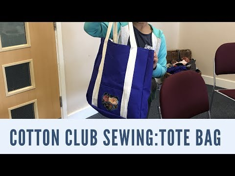 Cotton Club Sewing Class.