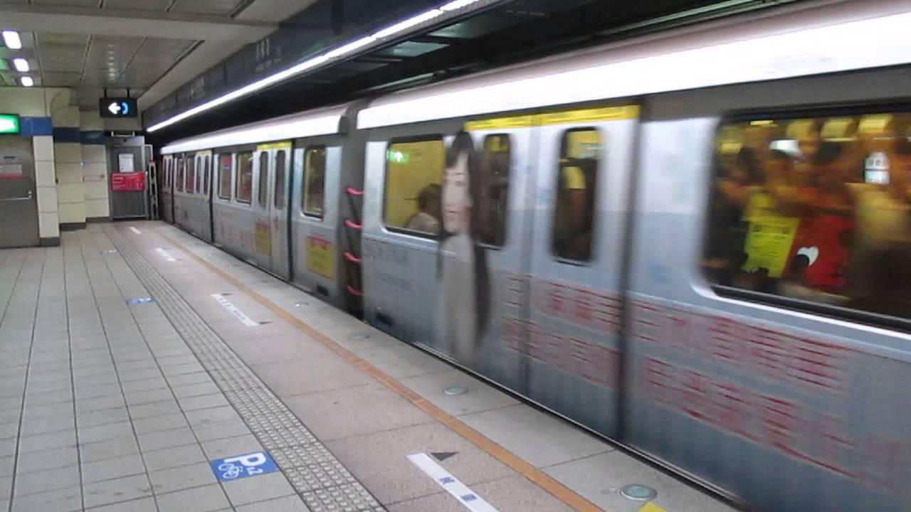 臺北捷運321型列車往南港展覽館離開善導寺站 - YouTube