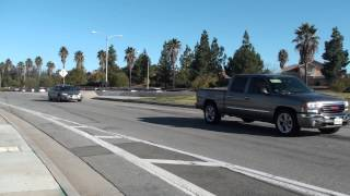 Funeral Procession for Officer Michael Crain Wed Feb 13 2013 - Riverside CA