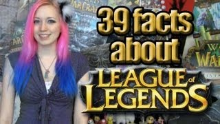 Repeat youtube video 39 LoL Facts You May Not Know! :D