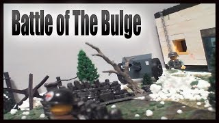 Lego WW2 Battle of The Bulge