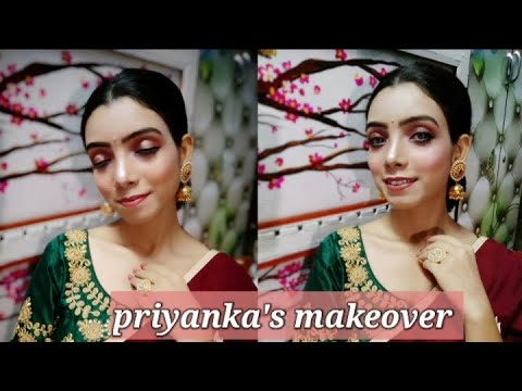 How to Nude Makeup (Beginners Easy turial Step By step) Hindi - Learn Makeup Online Hindi Easy