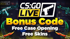 CSGOLive Bonus Code + Review,  Let's See What Skins We Can Win Using the CSGO live Promo Code