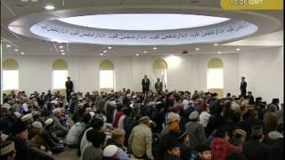 Urdu Friday Sermon 27th April 2012 - Ideal Spirit of Building and Populating Mosques
