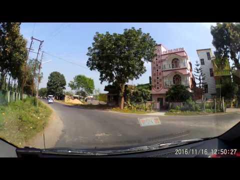 Kalyani (Nadia) - via JIS Connector Towards A-Block - Dash Cam Video 1080p 60fps