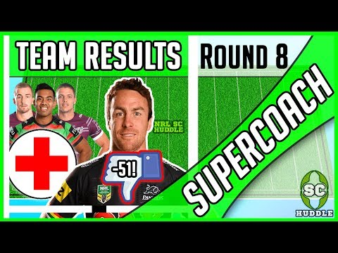 MONDAY MALONEY MADNESS! | Round 8 Results | NRL SUPERCOACH 2018