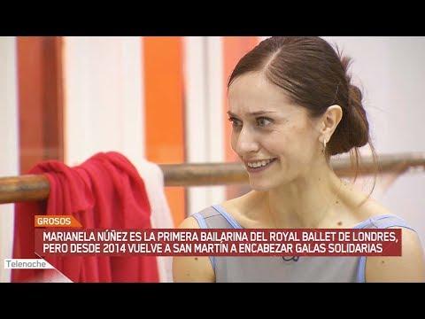 GROSOS: La bailarina que encabeza galas solidarias - Primera parte