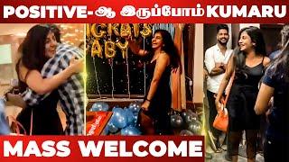 🔴 VIDEO: Gaby-க்கு Surprise Welcome கொடுத்த Friends! Aari, Rio, Bala | Bigg Boss Tamil | Vijaytv