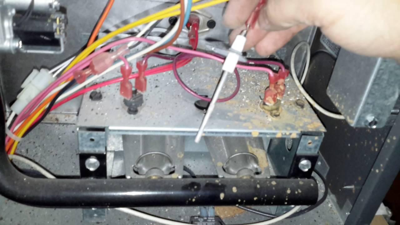 bad flame sensor goodman furnace [ 1280 x 720 Pixel ]