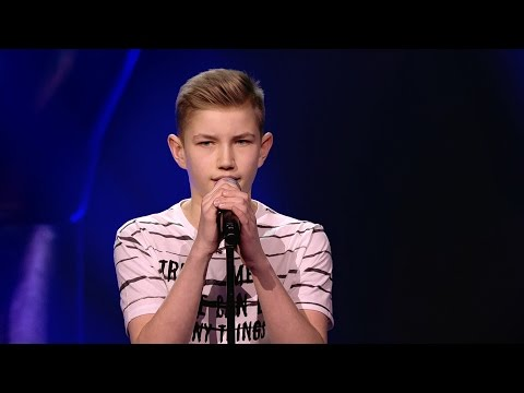 Jens - 'Rhythm Inside' | Blind Auditions | The Voice Kids | VTM