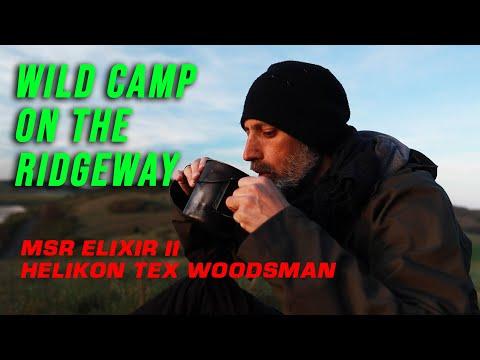 Wild camp on