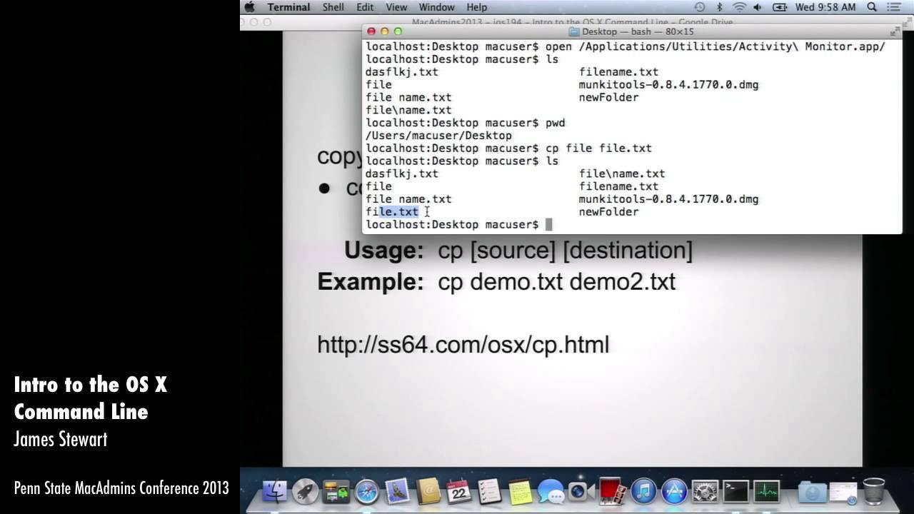 File & Folder Manipulation Commands
