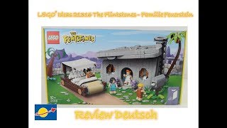 LEGO® Ideas 21316 The Flintstones ein echt cooles Set Review Deutsch
