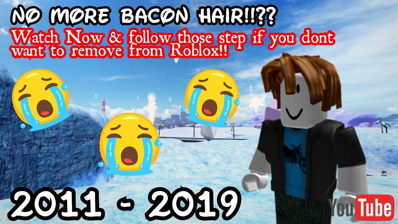 Roblox Music Video Bacon Hair No More Bacon Hair On Roblox Roblox Youtube