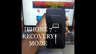 HOW TO PUT IPHONE 7 ON RECOVERY MODE