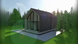 """Презентация дома Barn Нouse Midi 180 кв.м по технологии фахверк от компании """"GREEN HOUSE"""""""