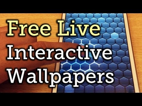 Top 5 Free Interactive Live Wallpapers for Your Samsung Galaxy Note 2 or Other Android Device ...