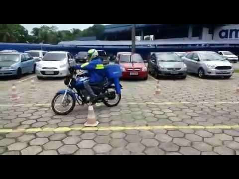 Teste de moto ambev Manaus.