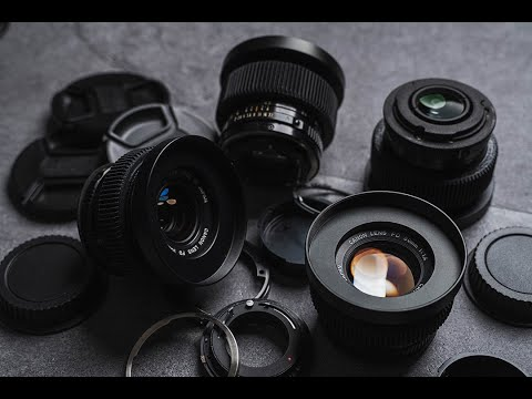 Converting Canon FD Lenses To EF Mount // Budget