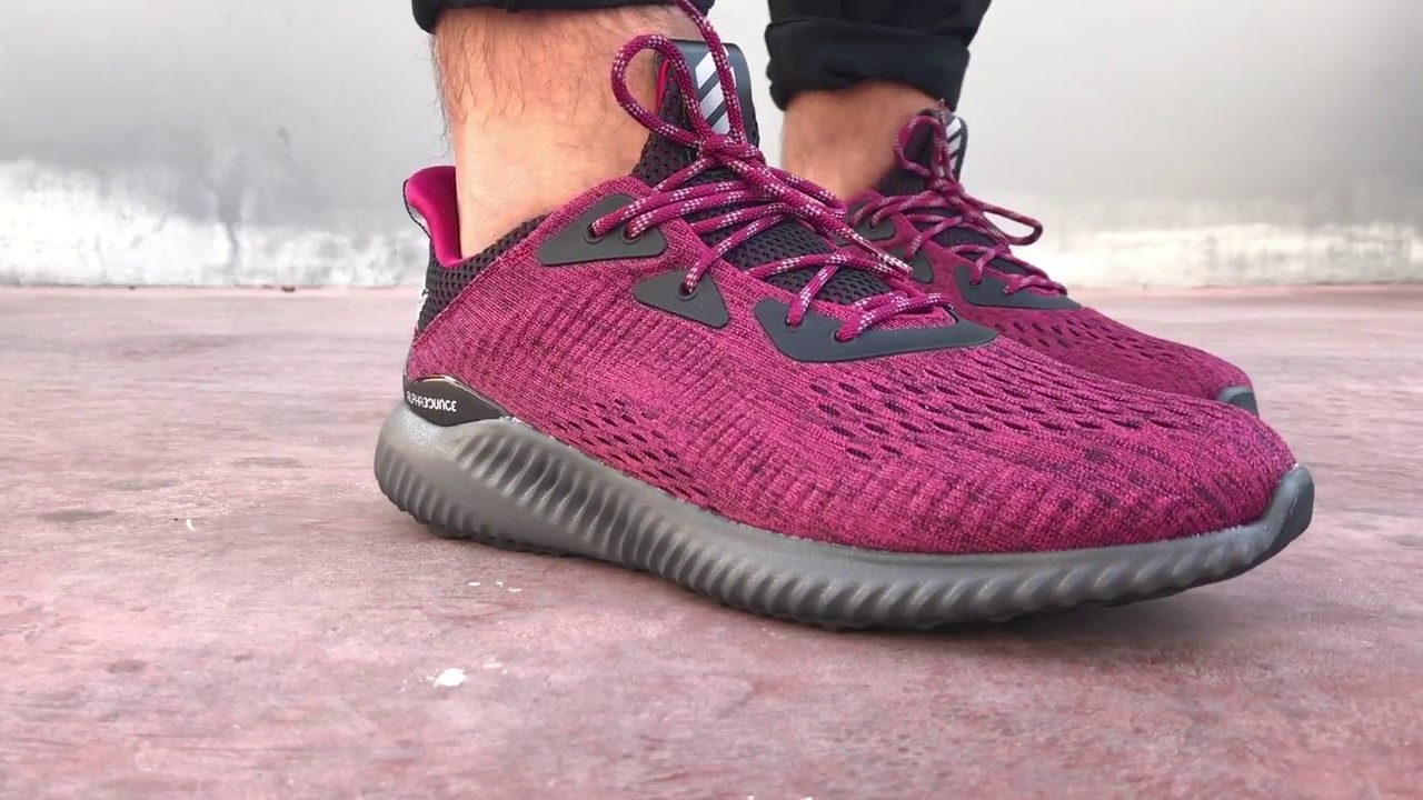 Alpha Bounce Sneakers (bordeaux)