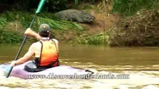 Kayak meets crocodiles Borderlands Sri Lanka