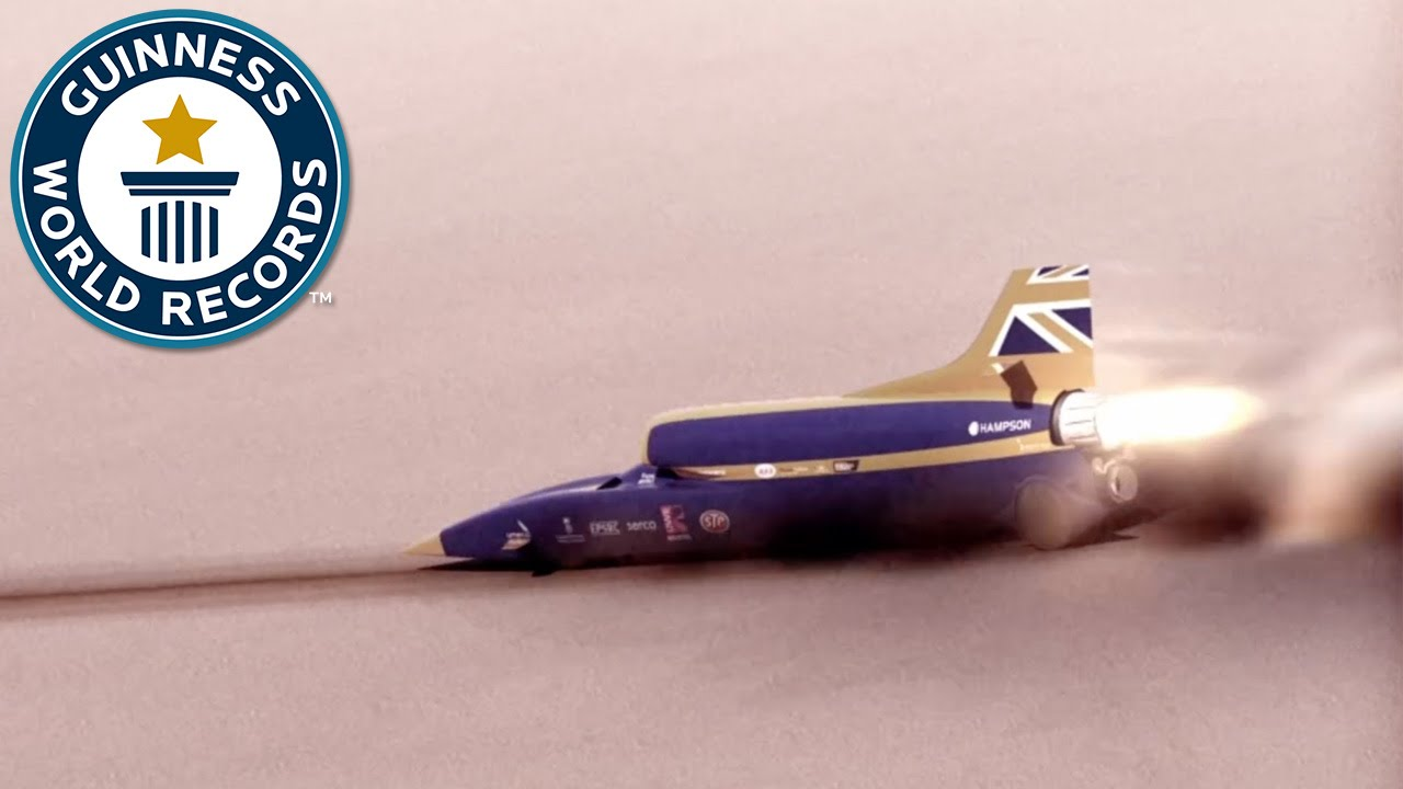 fastest rocketpowered model car guinness world records