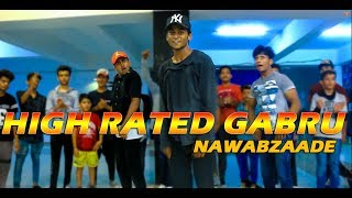 Nawabzaade: High Rated Gabru | Varun Dhawan | Guru Randhawa | Dance Choreography @Ajeeshkrishna