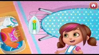 DADDYs LITTLE HELPER  FUN GAME for KIDS  Ironing FUN