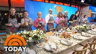 Top Chefs Bobby Flay And Lidia Bastianich Explain The Most-Searched Thanksgiving Food Topics | TODAY