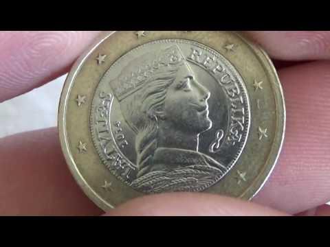 1 euro Latvija 2014