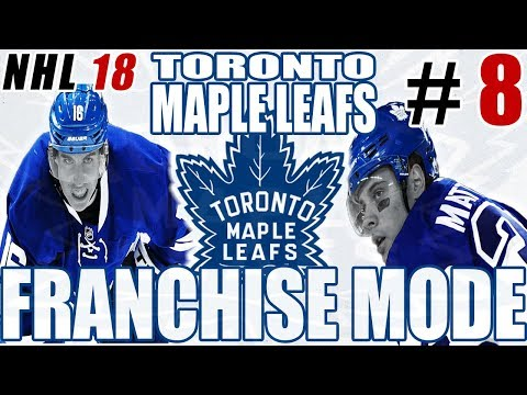 DRAFT TIME - NHL 18 FRANCHISE MODE - Toronto ep. 8