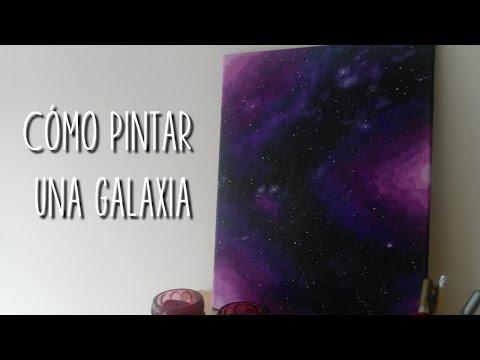 cómo-pintar-una-galaxia-|-doitmery