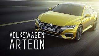VW ARTEON 2018 ЭКС VW PASSAT CC ПЕРВЫЙ РУССКИЙ ОБЗОР ДНЕВНИКИ ЖЕНЕВСКОГО АВТОСАЛОНА