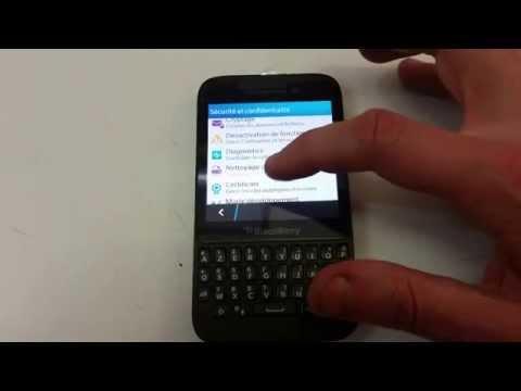 Reset Remise à zéro Blackberry Q5 (Hard Reset)