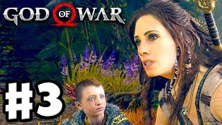 God of War - Gameplay Walkthrough Part 3 - Witch of the Woods! (God of War 4)