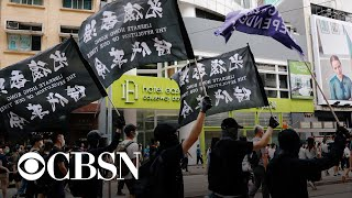 Controversial security law takes effect in Hong Kong
