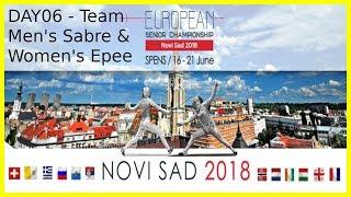 European Championships 2018 Novi Sad Day06 - Piste Yellow