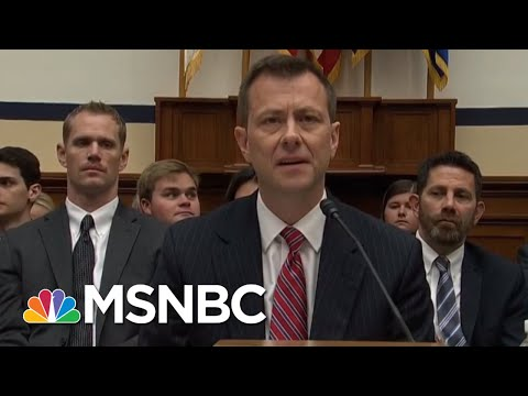 Peter Strzok Hearing 'Perfect Rorschach Test' For Russia Investigation | MTP Daily | MSNBC