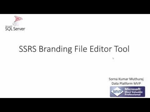 SSRS Branding File Editor Tool